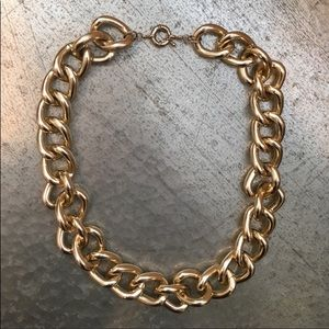 Nordstrom gold chain BP necklace